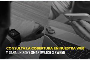 Gana un smartwatch fácil y rápido con Más Móvil