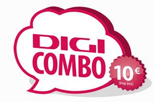 Una gran manera de mantenerte bien comunicado todo el mes: El Digi Combo 10 euros de DigiMobil