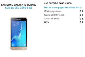 ¿Quieres en tu bolsillo el Samsung J3? ¡Yoigo te lo ofrece sin pagar más que tu tarifa!