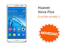 Conoce el Huawei Nova Plus en Simyo