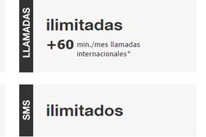 Envía todos los SMS que quieras al adquirir las tarifas Amena con llamadas ilimitadas