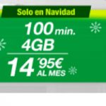 Nueva tarifa en Amena: 4 GB y 100 minutos por menos de 15 euros al mes