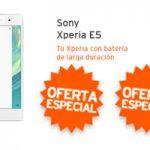 Simyo ha rebajado el Xperia E5 a 139 euros ¿Lo quieres?
