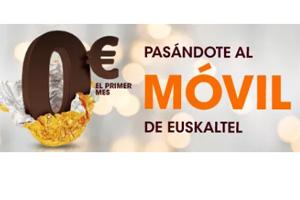 Cámbiate a Euskaltel y el primer mes pagas 0 euros