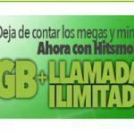 La nueva tarifa en Hitsmobile: llamadas ilimitadas y 4 GB para navegar