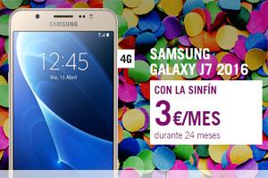El Samsung Galaxy J7 está en Yoigo a menos de lo que te imaginas