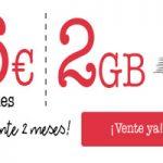 La tarifa Lowi Tú Mismo 6 euros te regala 1 GB extra durante dos meses