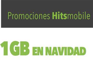 Contrata un servicio Hitsmobile antes del 6 de enero y llévate 1GB para navegar sin costo