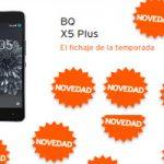 El BQ X5 Plus de estreno en la tienda Simyo