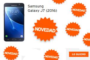 El Samsung Galaxy J7 Edición 2016 está en Simyo a sólo 8,3 euros al mes