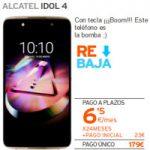 LLévate el Alcatel Idol 4 a 6,5 euros por mes con Simyo