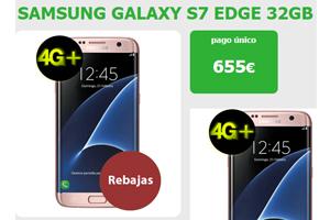 El Samsung Galaxy S7 Edge está en Amena con súper rebaja