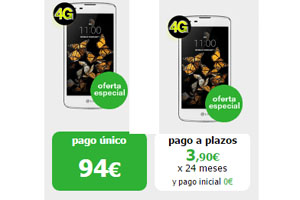 En Amena el LG K8 está en oferta especial