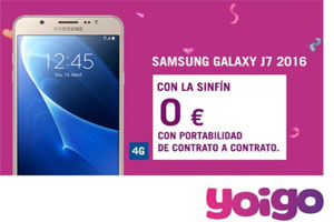 ¿Sabes que en Yoigo el Samsung Galaxy está a 0 euros?