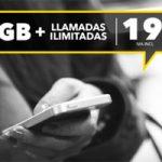 Hazte de llamadas ilimitadas y 8 GB para datos a precios rebajado con Más Móvil