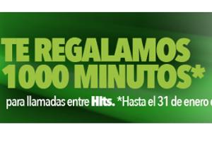 Todavía tienes oportunidad de llevarte 1000 minutos gratis con Hitsmobile