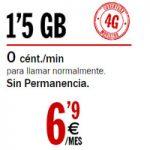 La básica de Pepephone: Llamadas a 0 céntimos el minuto y 1,5 GB por 6,90 al mes