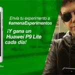 Amena estará sorteando un Huawei P9 Lite durante cada día de febrero