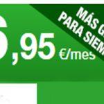 Las tarifas de Amena dan más gigas por el mismo precio