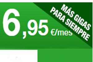 Las tarifas de contrato Amena dan más gigas por el mismo precio