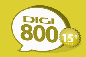Habla más con el bono Digi800 de Digi Mobil