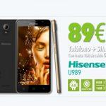 Hitsmobile tiene el Hisense U989 en oferta exclusiva para clientes online