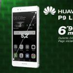 El Huawei P9 Lite está en Amena por 6,90 mensuales con la tarifa de 14,95