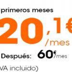 Servicio móvil, residencial y televisión por 20,1 euros en Euskaltel por tiempo limitado