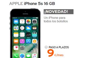 El iPhone 5s está a un gran precio en la tienda oficial Simyo
