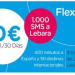 Consigue 400 minutos para hablar a donde quieras con el bono Flexi10 de Lebara Móvil
