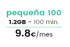Conoce la tarifa pequeña 100 deRepúblicaMóvil