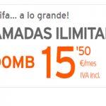 Hazte con llamadas ilimitadas y 500 MB por 15,50 euros al mes en Simyo