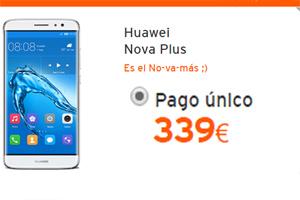 El Huawei Nova Plus baja a 339 euros en Simyo