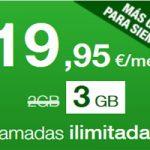 Llévate 3 GB en lugar de 2 en tu tarifa de 19,95 sin costo extra con Amena
