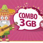 3 GB y 200 minutos para llamadas nacionales e internacionales con elDigiCombo 3 GBdeDigimobil