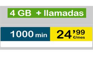 4 GB y 1000 minutos en Suop por menos de lo que imaginas
