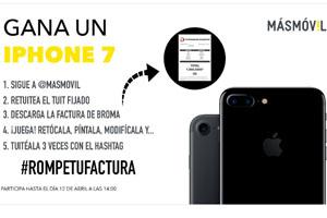 Gana un iPhone 7 con más móvil