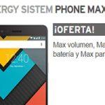 Hazte con Simyo del Energy Sistem Phone Max 2+ que está a un precio increíble