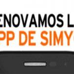 Y tú…¿Ya probaste la aplicacion renovada de Simyo?