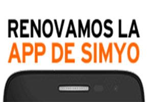 Y tú...¿Ya probaste la aplicacioón renovada de Simyo?