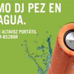 Llévate un súper altavozportátilVieta participando conYoigo en las redes sociales