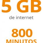 800 minutos y 5 GB por 15 euros al mes con Digimobil