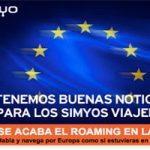 Llama, navega y envía mensaje sin costo extra en la UE con Simyo