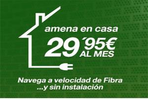 Navega hasta 40 GB en la comodidad de tu hogar sin pagar renta de línea con Amena en Casa
