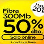 Llévate fibra a mitad de precio hasta el 2018 y línea móvil con Jazztel