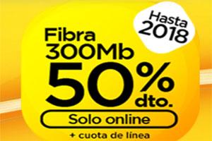 Llévate fibra a mitad de precio hasta el 2018 y el smartphone que te guste con Jazztel