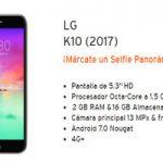 Ya está en la tienda virtual de Simyo el LG K8 edición 2017