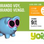La del cero 1,5 GB de Yoigo con 1 GB extra sin costo se va…
