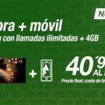 Amena estrena nuevos paquetes convergentes con fibra y muchas gigas para móvil sin costo por promo de verano