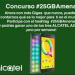 Amena tiene un nuevo concurso donde podrás ganar un Alcatel A5 LED